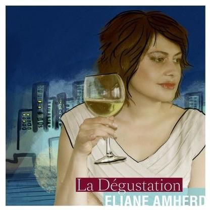 """Eliane Amherd präsentiert ihr Album """"La Dégustation""""   -  Olivier Mounir - präsentiert dazu ausgewählte Weine"""